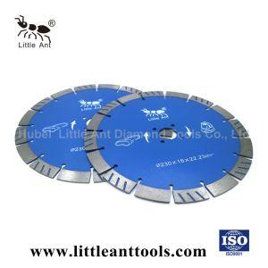 Il diamante dello strumento del diamante di 9  /230mm che diamante della pietra blu degli utensili per il taglio della lama per sega sinterizzato la lama per sega