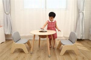 Jouet en bois multifonction Kids Table et chaise avec un jeu de bacs de stockage de meubles de la maternelle