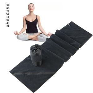 Programável Utral toalha desportivo com fecho de correr no bolso ideal para ginásio