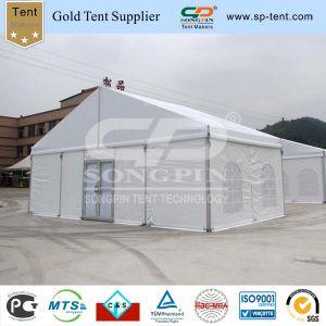 Una tenda industriale di lusso delle 200 genti per il partito con il portello di vetro