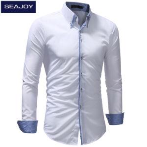 2a08cf76bb9 La Mens OEM de manga larga camisa de vestir casuales Los hombres visten  camisetas