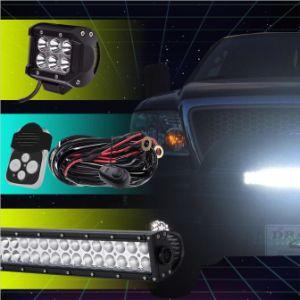 IP67はまっすぐ/曲げられたLED作業ライトバー50インチ288Wを防水する