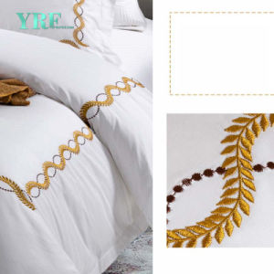 Yrfのホテルの寝具シートのホテルのリネン寝具セット