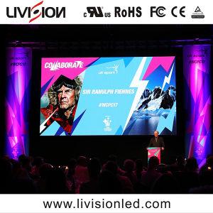 2018会議P3.9のための屋内LEDビデオスクリーンのイベント