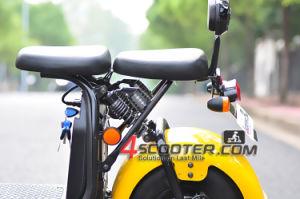 Potente batería de litio de alta velocidad Citycoco scooter con la CEE y Coc
