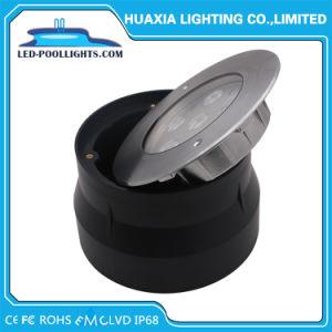 RGB de 18W de luz de la piscina empotrada IP67 y IP68 de Metro de LED de iluminación (HX-HUG165-18W-RGB)