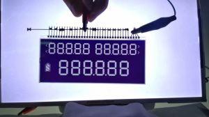 Tn van Customerized LCD van het Type Comité met de Schakelaar van de Speld