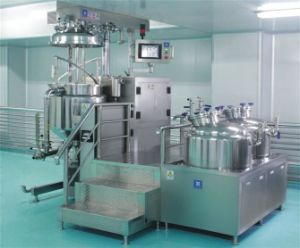 Miscelatore d'emulsione di vuoto dell'acciaio inossidabile per crema
