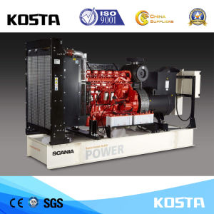 generatore diesel silenzioso di Scania di consegna veloce di prezzi bassi 300kVA