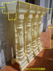 Coluna de material de construção do molde do molde da coluna de ABS do Molde