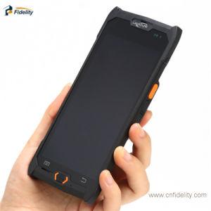 De draagbare Handbediende Collector van de Gegevens NFC PDA van de Lezer RFID van de Streepjescode van de Collector PDA van Gegevens Eind Ruwe 2D Androïde Mobiele