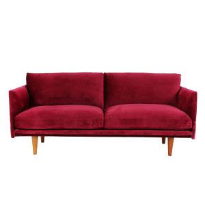Tecido de moda Home Mobiliário para sala de estar sofá-cama (XD-410)