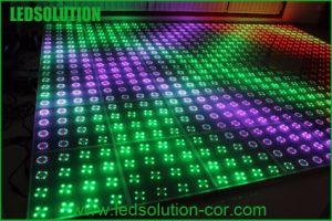 A Todo Color Bailar en discoteca piso LED display