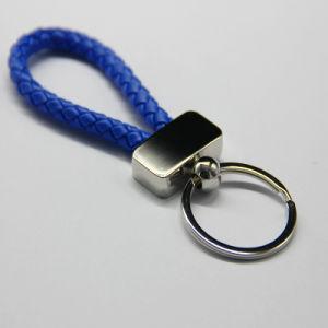 관례 금속을%s 가진 다른 색깔 밧줄 가죽 Keychain