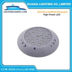 Montaggio subacqueo fissato al muro dell'indicatore luminoso della piscina di alto potere LED
