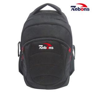 Form kundenspezifischer schwarzer bester Laptop-Laptop-Rucksack