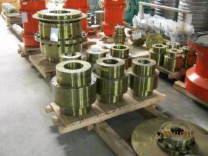Di dispositivo di accoppiamento d'acciaio della scanalatura della struttura dell'attrezzo e del materiale