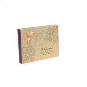Personnalisé Papier carton Boîte Cadeau Chocolat élégante boîte magnétique