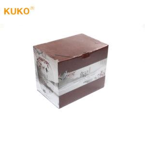 Envoltura retráctil de plástico para la caja de cartón