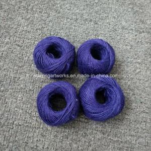 ジュートの麻ひもロープのコードストリングギフト包むことのための多彩なクラフトの麻ロープ