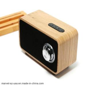 Superbaß und Subwoofer beweglicher drahtloser Bluetooth Lautsprecher hölzerner Bluetooth Lautsprecher