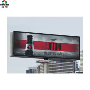Super pantalla LED de luz P6 de la pantalla exterior Carteles de publicidad