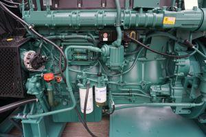 Volvo OEM 공장 440kw 550kVA 침묵하는 전기 Volvo는 디젤 엔진 Genset를 강화한다