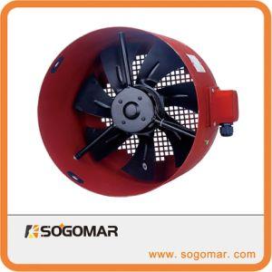 Dia200mm ventilateur axial à rotor externe avec boîtier en métal et les lames (SFG-112A)