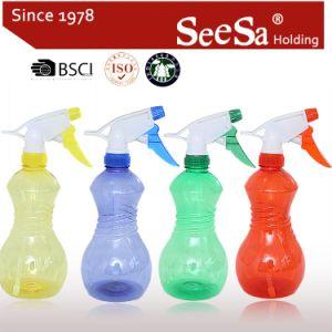 spruzzatore di plastica di innesco di pressione di mano del giardino 550ml (SX-259)