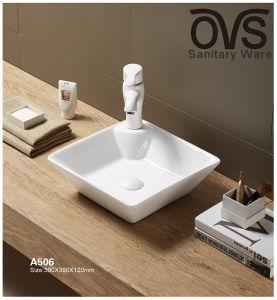 Qualitäts-keramisches Bassin-Badezimmer-Schrank-Wäsche-Bassin