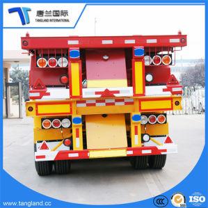 容器の交通機関のための骨組半ポートのトレーラー