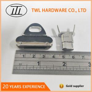 Nouvelle Mode Accessoires Sac de matériel en alliage de zinc tourner le verrou