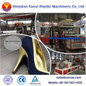 Macchina dell'espulsione della pavimentazione di Spc del macchinario della pavimentazione del vinile del PVC WPC della plastica