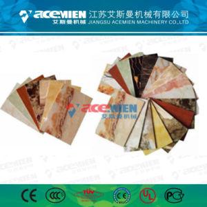 Plastique PVC Conseil/plaque de marbre/panneau mural extrudeuse