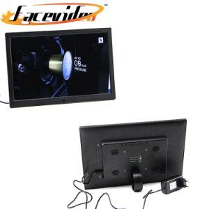 LCD personalizado profissional Ad Player 15,4 polegadas de prateleira de acrílico quadrado grande monitor LCD de Alta Luminosidade