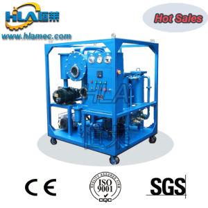 El doble de las etapas de la máquina del filtrado de aceite del transformador de vacío