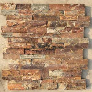 La Chine Rusty naturelles de l'Ardoise de panneaux muraux extérieurs (SMC-SCP459)