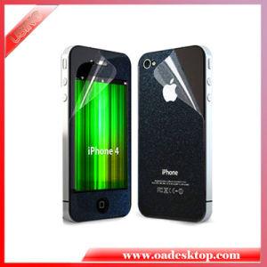 Frontseiten-und Rückseiten-freier Mattschirm-Schutz-Film-Schirm-Schutz für iPhone4/4s