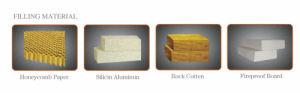 Nuovo portello d'acciaio di obbligazione di alta qualità e di disegno (JC-028)