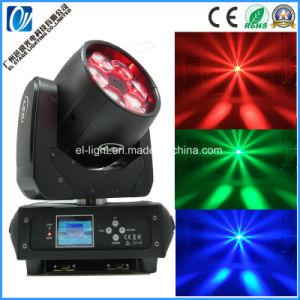 Gran potencia 250W 6*40W 5en1 RGBW luces LED de lavar el zoom moviendo la cabeza de luz para el club de noche