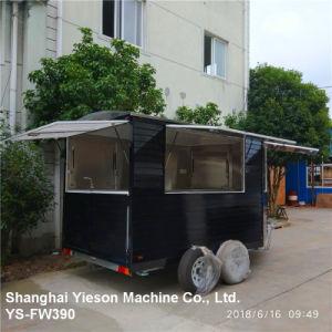 3.9M Ys-Fw390 черный деревянный продовольственной Ван продовольственной прицепа тележки прицепа