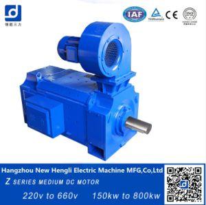 La serie Z 440V 330kw 970rpm de motor DC cepillado eléctrico