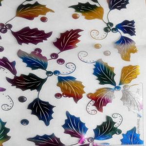 Embroidered stampato Organdy per Decoration