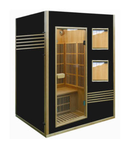 Joda Sauna Infrarrojo Lejano Sauna Sauna de interior de madera maciza