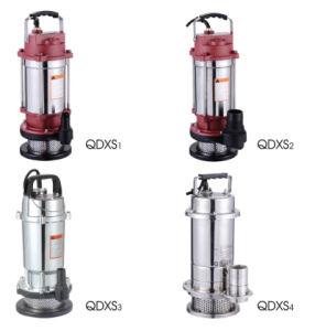 Aço inoxidável Qdx bomba submersível/ 0.550.37kw kw/0,75kw