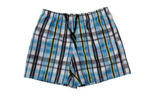 Plaid Style Beach Shorts per Men
