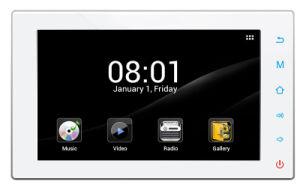 Priorità bassa Music in Wall Music Keypad Multiroom Aduio System Whole House Music System (YZ-300)