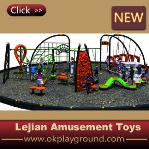 Spider-Climbing Kids Terrain de jeux extérieur pour le stationnement Équipement pour body building