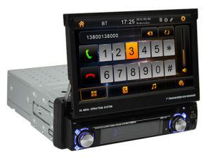 O sistema de DVD de vídeo do carro