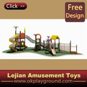 Corrediça ao ar livre das crianças plásticas da alta qualidade ISO9001 (X1228-6)